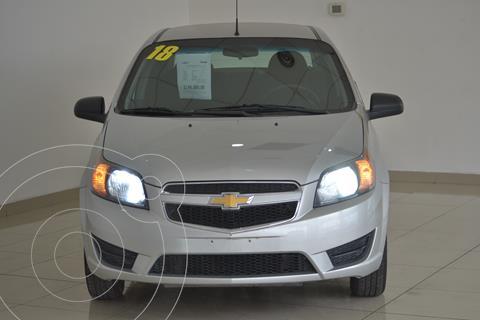 Chevrolet Aveo LS usado (2018) color Plata precio $148,000