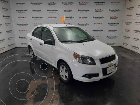 Chevrolet Aveo LS (Nuevo) usado (2017) color Blanco precio $129,990