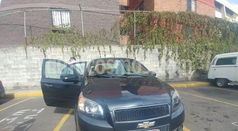 Chevrolet Aveo LT Aut usado (2015) color Gris Oxford precio $105,000