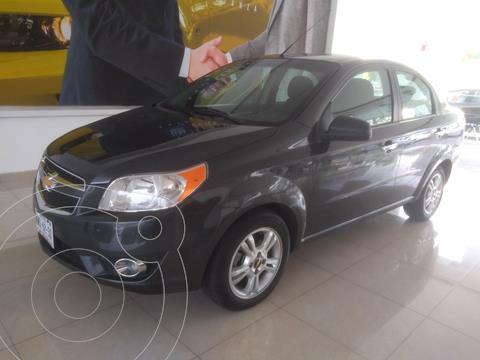 Chevrolet Aveo LTZ Aut usado (2018) color Gris Oscuro precio $178,000