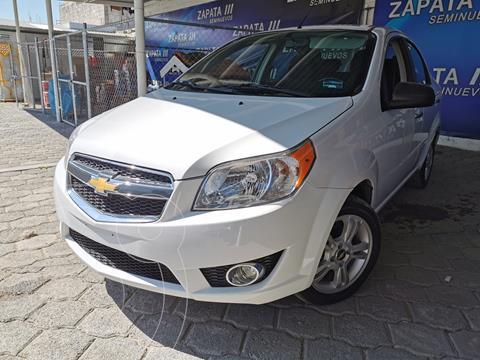 Chevrolet Aveo LTZ usado (2018) color Blanco financiado en mensualidades(enganche $37,500 mensualidades desde $3,555)