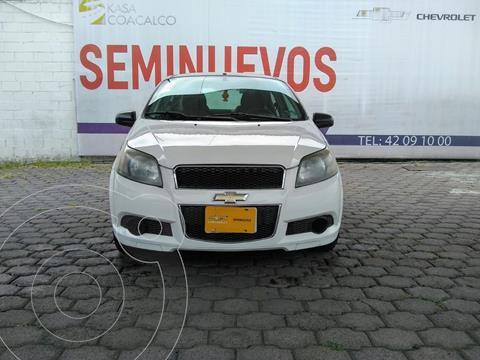 Chevrolet Aveo LS Aa usado (2013) color Blanco precio $110,000