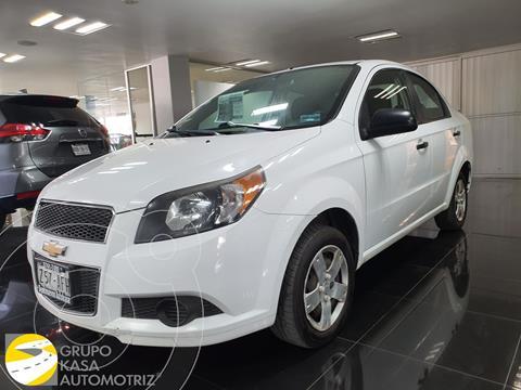 Chevrolet Aveo LS Aa usado (2016) color Blanco precio $110,000