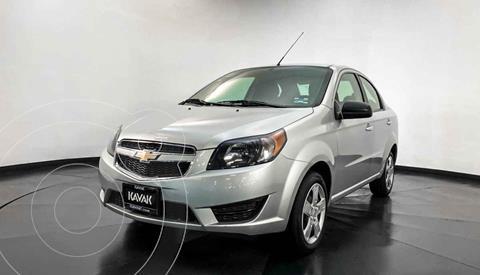Chevrolet Aveo LS Aa usado (2019) color Plata precio $152,999