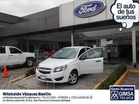 Chevrolet Aveo LS MANUAL usado (2018) color Blanco precio $138,002