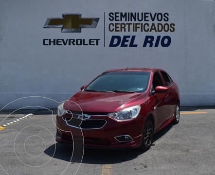 Chevrolet Aveo LTZ usado (2018) color Rojo precio $200,000