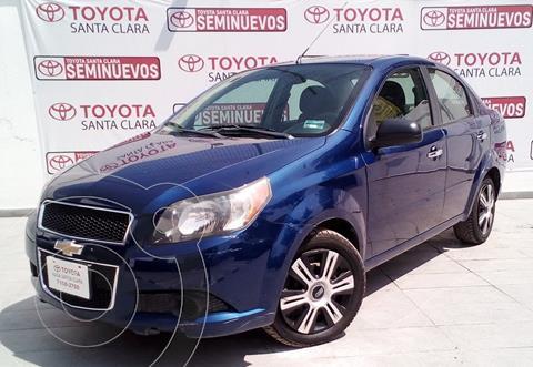 Chevrolet Aveo LT usado (2014) color Azul precio $105,000