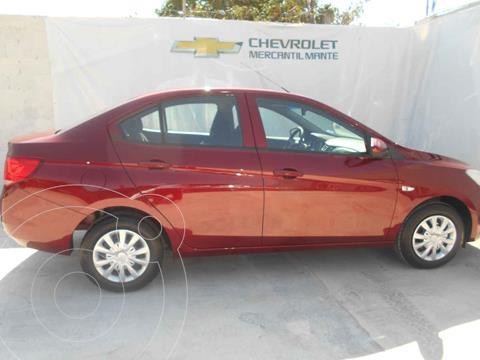 OfertaChevrolet Aveo LS Aut nuevo color Rojo precio $238,100