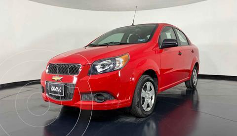Chevrolet Aveo LS Aa usado (2016) color Rojo precio $129,999