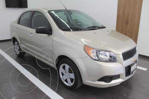 Chevrolet Aveo LT Plus usado (2016) color Dorado precio $135,000