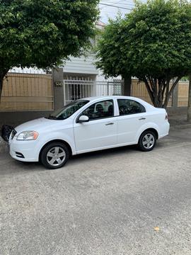 Chevrolet Aveo Paq C usado (2011) color Blanco precio $80,000