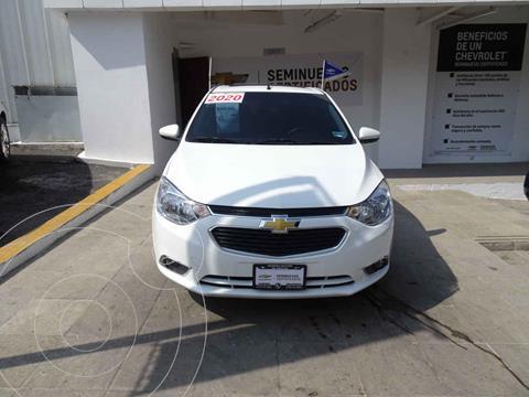 Chevrolet Aveo Paq E usado (2020) color Blanco precio $255,000