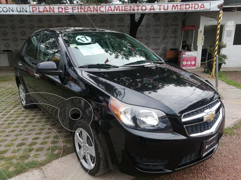 Chevrolet Aveo LT usado (2017) color Negro Grafito precio $147,000