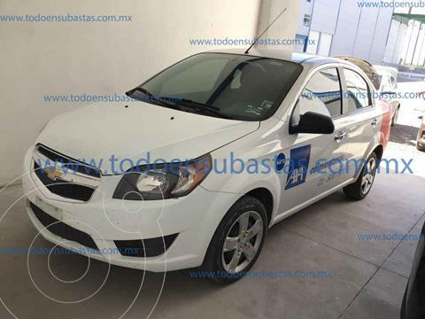 Chevrolet Aveo LT (Nuevo) usado (2017) color Blanco precio $78,000