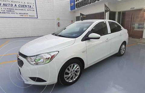 Chevrolet Aveo Paq D usado (2020) color Blanco precio $205,000