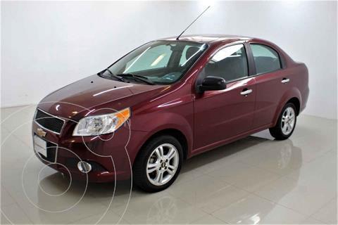 Chevrolet Aveo LS Aut usado (2013) color Rojo precio $105,000