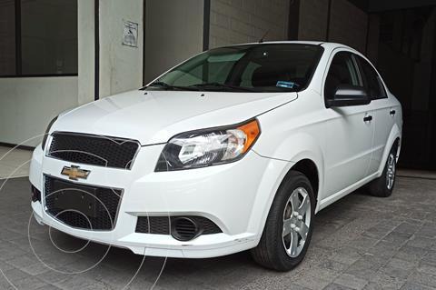 Chevrolet Aveo LS Aa usado (2017) color Blanco precio $129,000