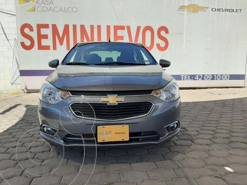 Chevrolet Aveo LTZ usado (2020) color Gris precio $230,000