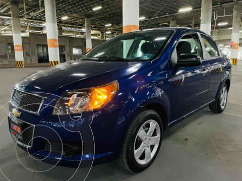 Chevrolet Aveo LT usado (2017) color Azul precio $128,000