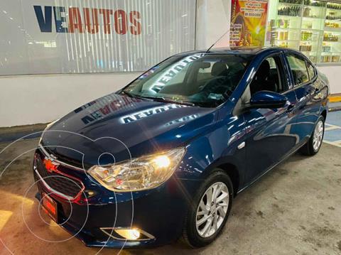 Chevrolet Aveo Paq E usado (2020) color Azul precio $189,000