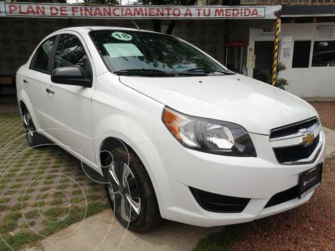 Chevrolet Aveo LT usado (2018) color Blanco precio $176,000