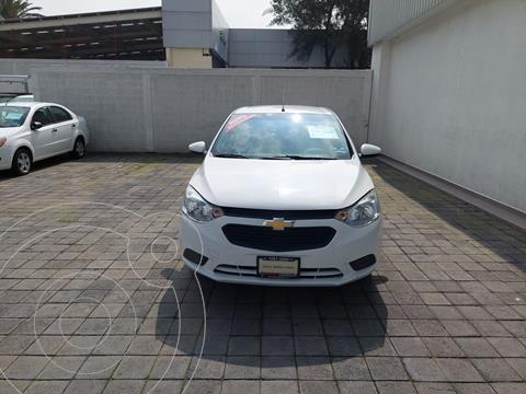 Chevrolet Aveo LS usado (2019) color Blanco precio $190,000