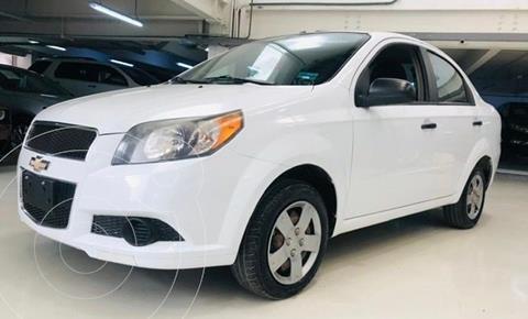 Chevrolet Aveo LS usado (2014) color Blanco precio $104,100