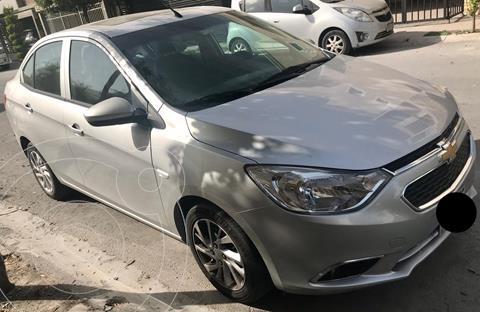Chevrolet Aveo LTZ usado (2018) color Plata Brillante precio $160,000