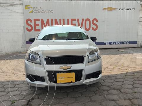 Chevrolet Aveo LT usado (2017) color Plata Dorado precio $150,000