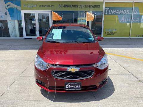 Chevrolet Aveo LT  usado (2021) color Rojo precio $260,000