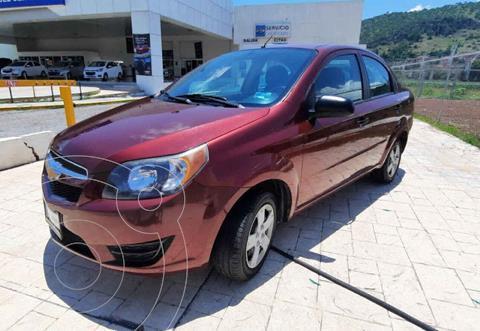 Chevrolet Aveo LS Aa usado (2017) color Rojo precio $132,000