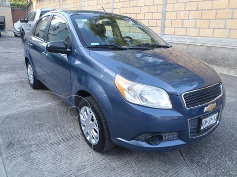Chevrolet Aveo LT Bolsas de Aire y ABS Aut (Nuevo) usado (2013) color Azul Metalico precio $97,000