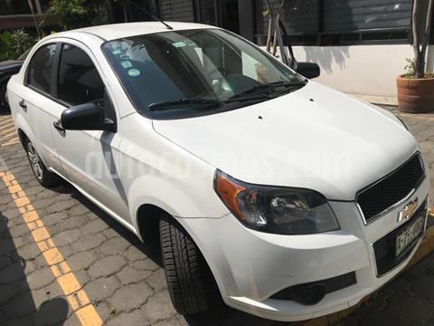 Chevrolet Aveo LS Aa usado (2015) color Blanco precio $79,000