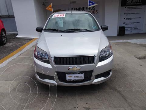 Chevrolet Aveo LS Aut (Nuevo) usado (2016) color Plata precio $130,000