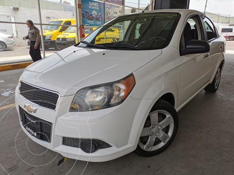 Chevrolet Aveo LS usado (2016) color Blanco precio $140,000