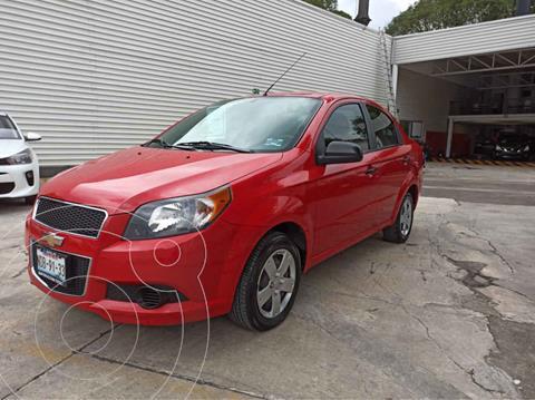 Chevrolet Aveo LT Aut usado (2015) color Rojo precio $130,000
