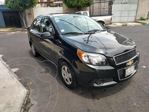 Chevrolet Aveo LS usado (2015) color Negro Grafito precio $98,000