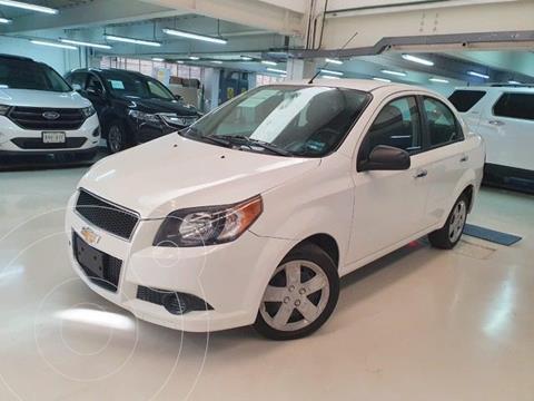 Chevrolet Aveo LS usado (2017) color Blanco precio $139,100