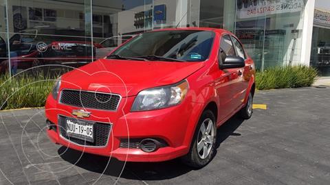 Chevrolet Aveo LS usado (2017) color Rojo precio $134,000