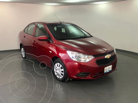 Chevrolet Aveo LS usado (2020) color Rojo precio $189,500