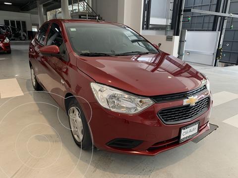 Chevrolet Aveo LS Aa usado (2018) color Rojo precio $244,200