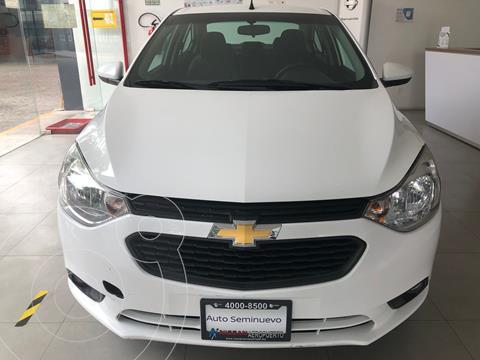 Chevrolet Aveo LT Aut usado (2020) color Blanco precio $209,000