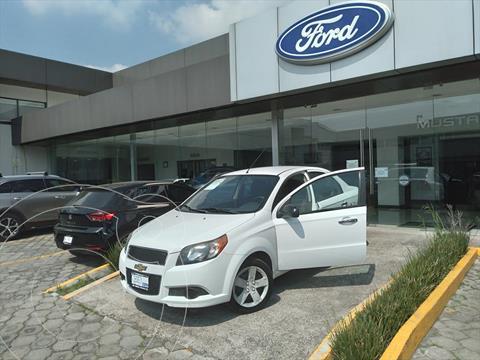 Chevrolet Aveo LT usado (2017) color Blanco precio $130,000