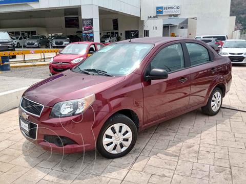 Chevrolet Aveo LS Aa usado (2017) color Rojo precio $120,000