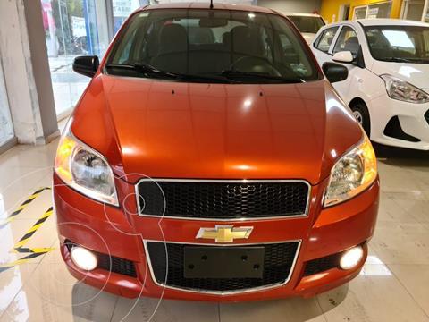 Chevrolet Aveo LTZ usado (2016) color Naranja precio $156,900