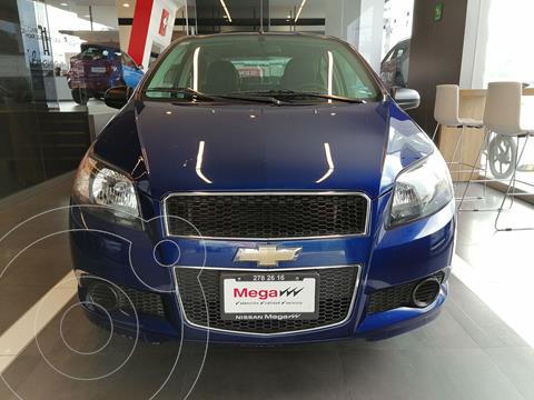 Chevrolet Aveo LS Aa usado (2017) color Azul precio $145,000