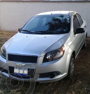 Chevrolet Aveo LT usado (2012) color Plata precio $82,000