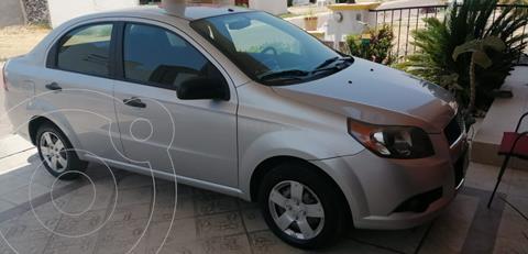 Chevrolet Aveo LS Aa usado (2014) color Plata precio $92,000