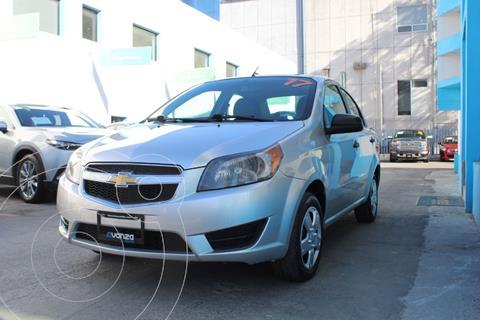 Chevrolet Aveo LS usado (2017) color Gris precio $129,000