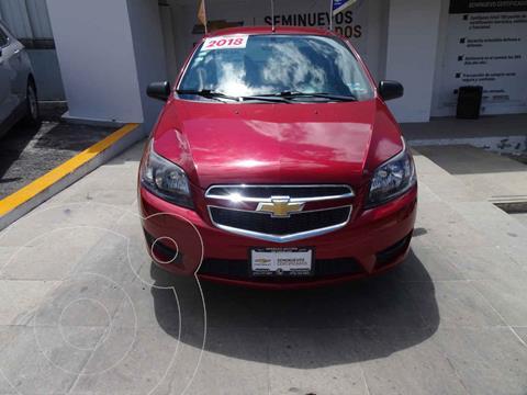 Chevrolet Aveo LT (Nuevo) usado (2018) color Rojo precio $180,000